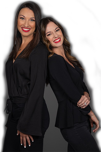 Jennifer and Amy Aust of Adler Public Relations Agency in Scottsdale